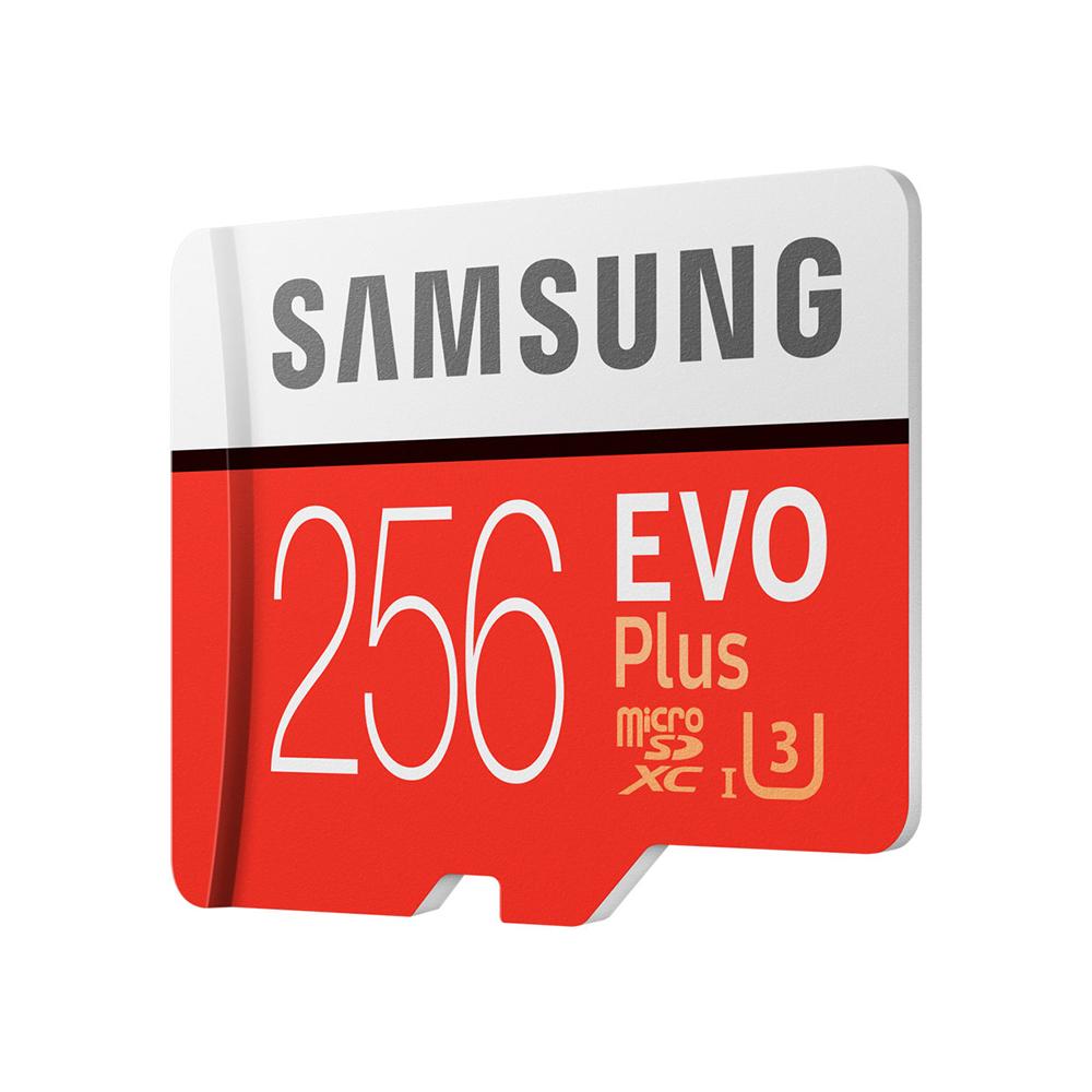 Card Memorie Micro SDXC Evo Plus 256GB Cu Adaptor SD