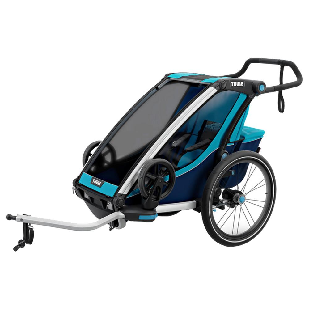 Carucior Chariot Cross Trailer 1 Albastru