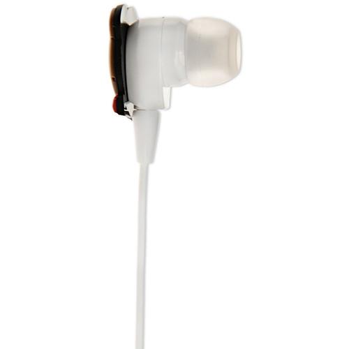 Casti Cu Fir Stereo in Ear cu Microfon Alb Gennarino