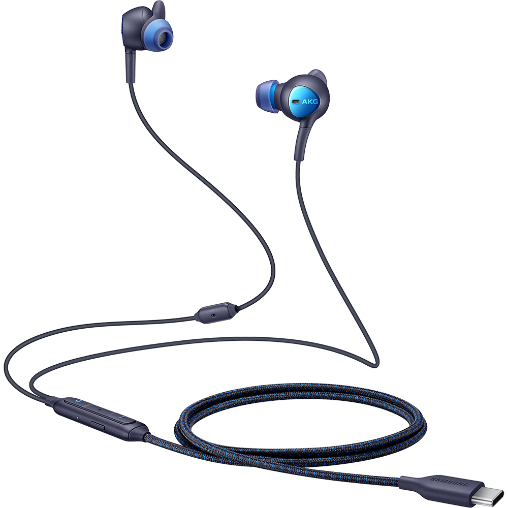 Casti Audio Cu Fir ANC In Ear, Microfon, Buton Control, Type-C, Negru