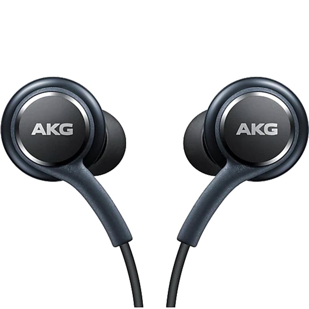 Casti Audio cu telecomanda pe fir si mufa Type C By AKG culoare Negru