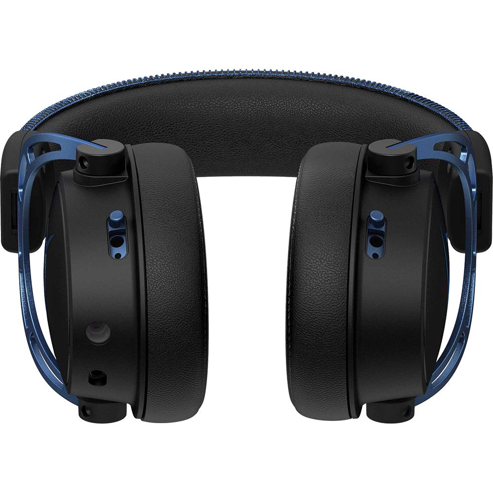 Casti Audio Over Ear Cloud Alpha S Gaming, Sunet 7.1, Microfon Reglabil, ANC, HX-HSCAS-BL/WW,  Negru Albastru