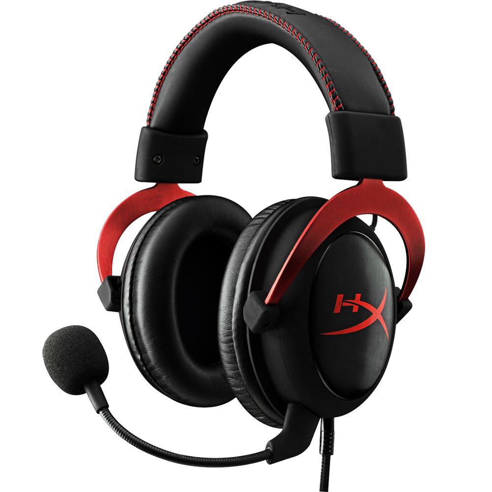 Casti Audio Cloud II 7.1 Gaming Negru/Rosu