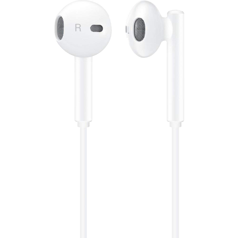 Casti Audio In Ear CM33, Microfon, Buton Control Volum, Mufa Type C, Alb