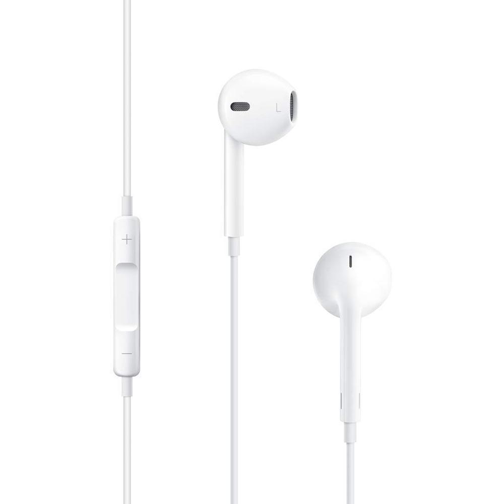 Casti cu microfon Apple EarPods cu mufa Jack 3.5mm model MNHF2ZM/A retail