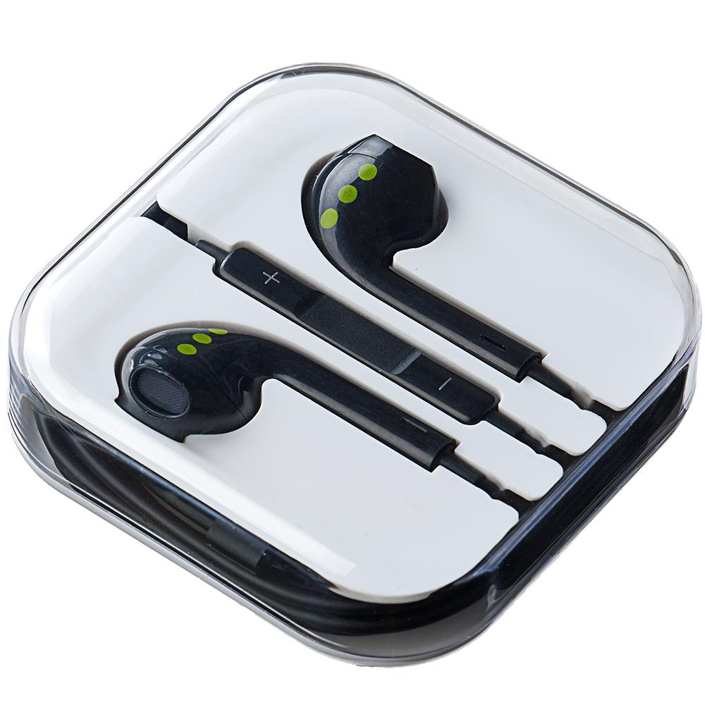 Casti Audio Cu Microfon Negru