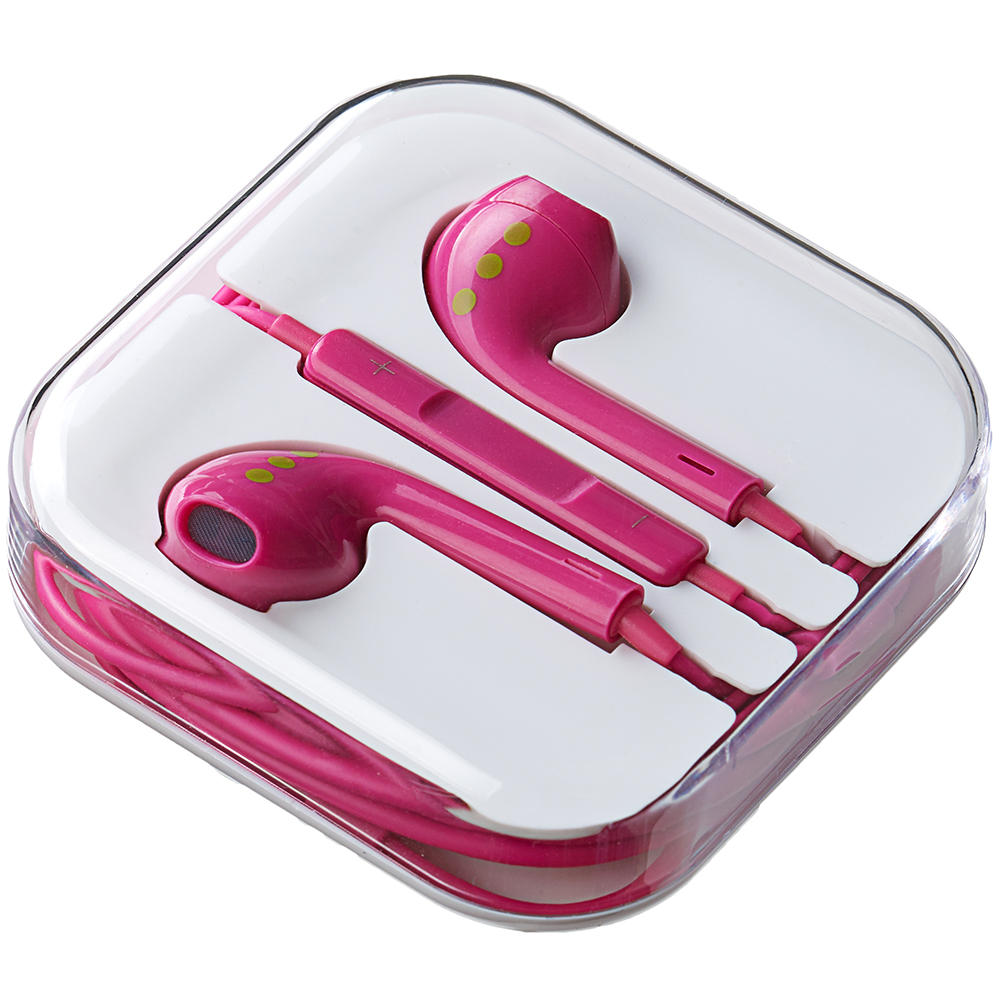 Casti Audio Cu Microfon Roz