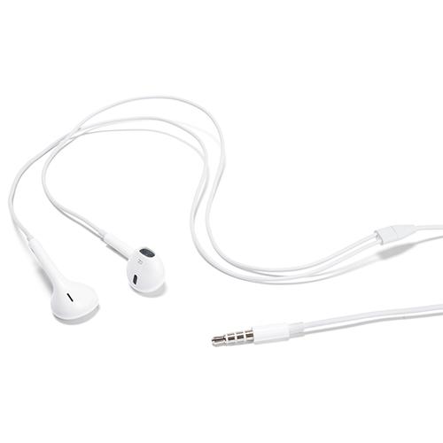 Casti cu microfon Apple EarPods cu mufa Jack 3.5mm model  md827 Albe