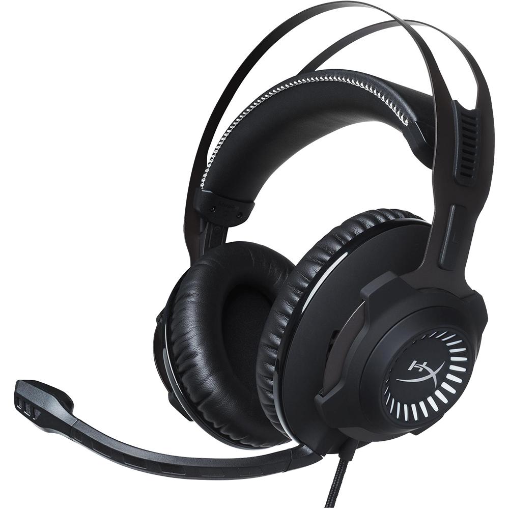 Casti Audio Gaming Revolver (S) Negru