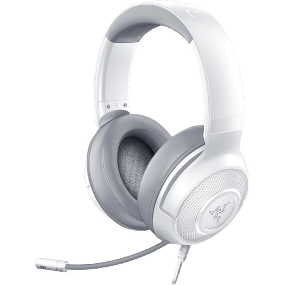 Casti Audio Kraken X Mercury Multi-Platform Wired Gaming Alb