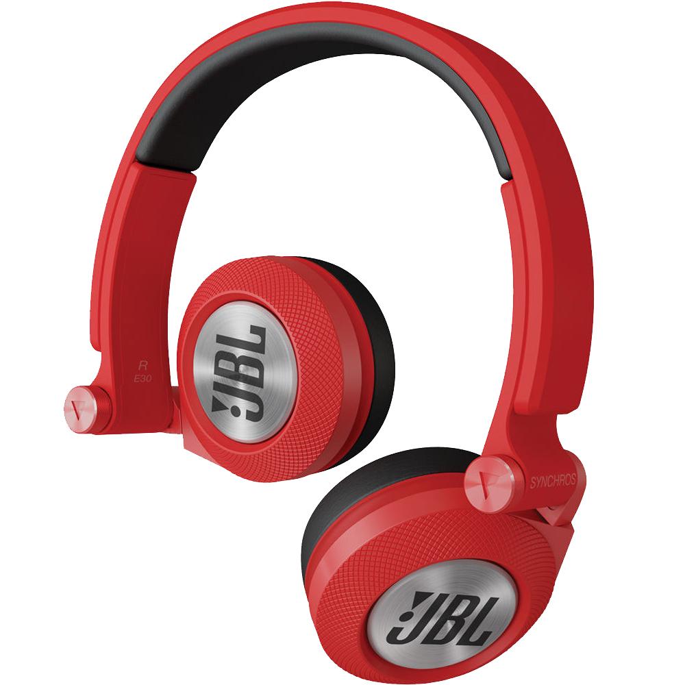 Casti Audio On Ear E30 Rosu
