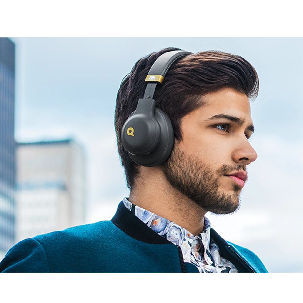 Casti Audio   On Ear Quincy Edition Negru