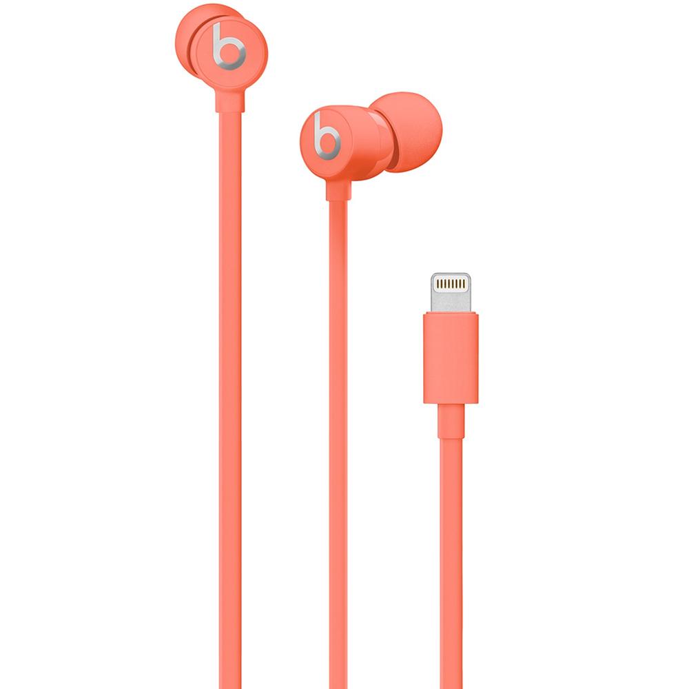 Casti Audio In Ear UrBeats 3, Microfon Si Buton Control Volum, Mufa Lightning, Rosu