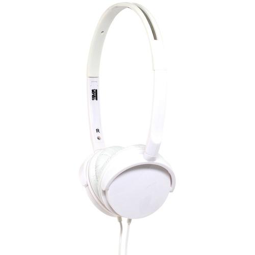 Casti Cu Fir Alpha Stereo Over Ear cu Microfon Alb Pentru toate telefoanele iPhone