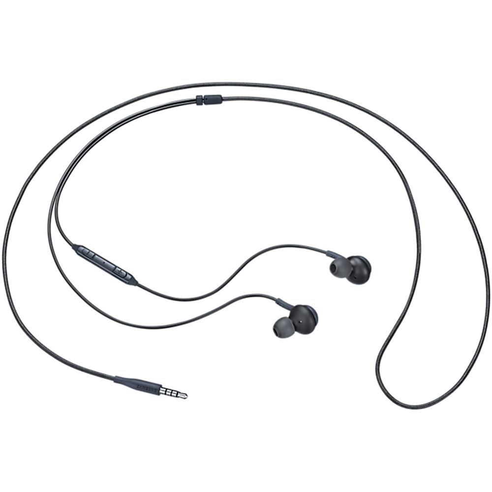 Casti Audio Cu Fir In Ear, Microfon, AKG, Buton Control, Mufa Jack 3,5 mm, Negru