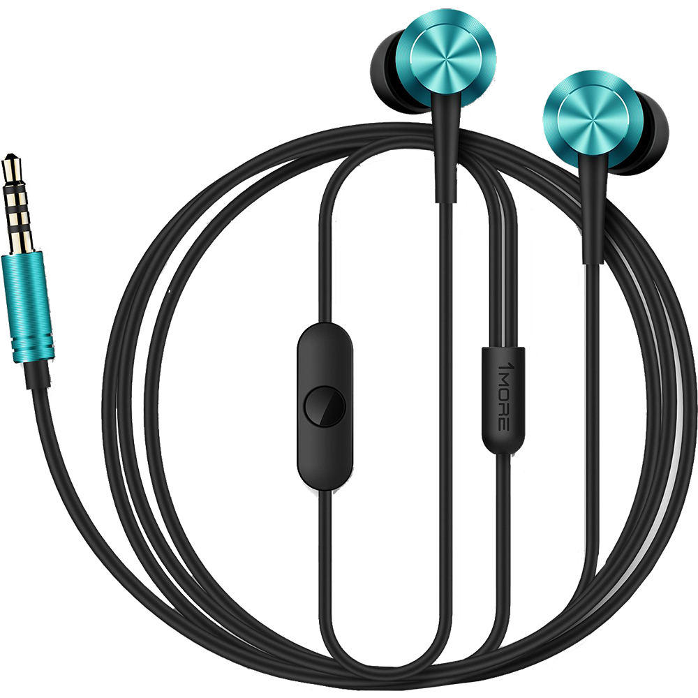 Casti cu Fir Piston Fit In-Ear Albastru