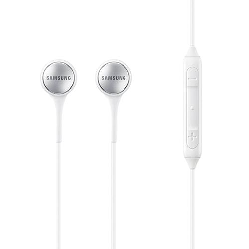 Casti Audio Cu Fir In Ear, Stereo, Microfon, Buton Control, Mufa Jack 3,5 mm, Alb
