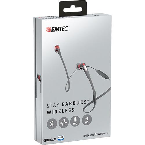 Casti Wireless In Ear Stay E200 Gri