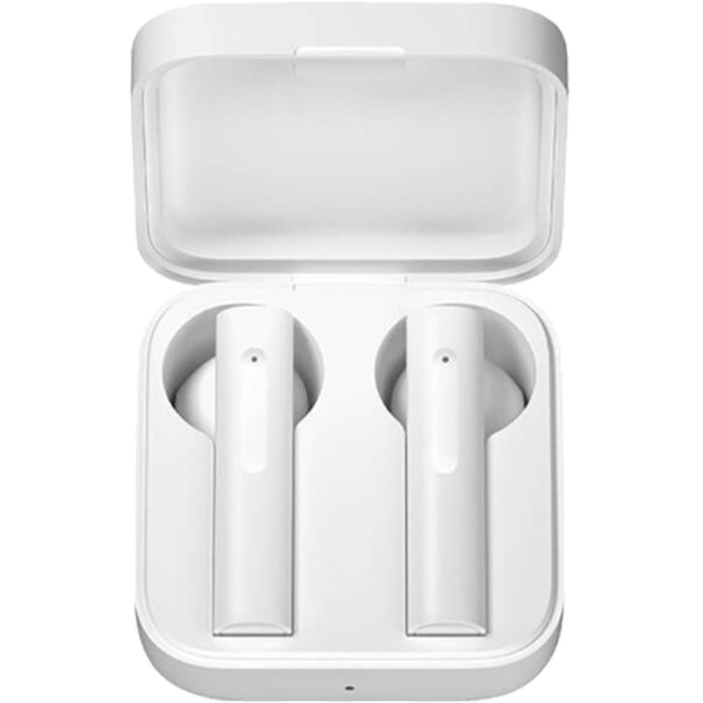 Casti Wireless Air 2 SE In Ear, Microfon Dual, Control Tactil, Alb