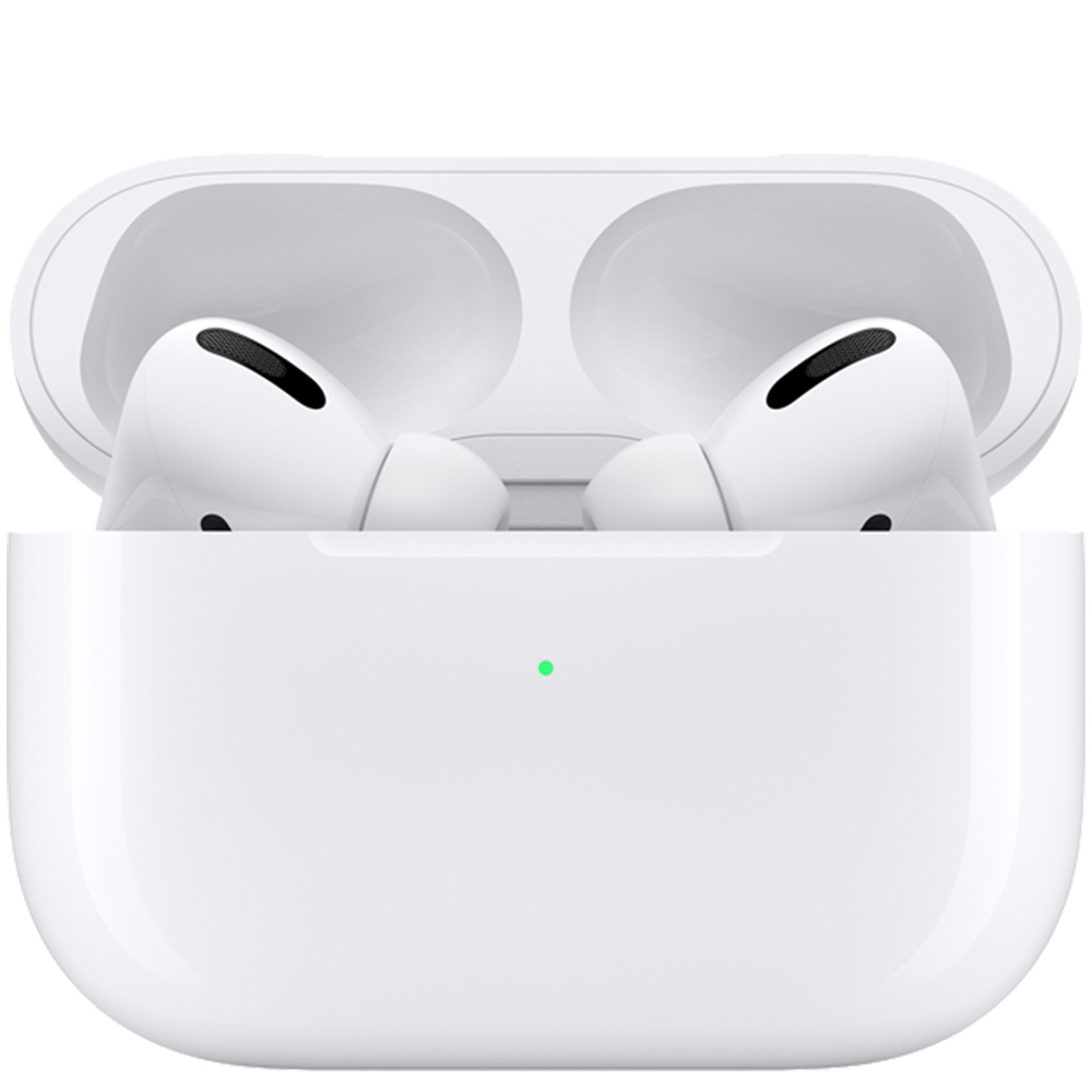 Casti Airpods Pro cu True Wireless Charging Case Alb