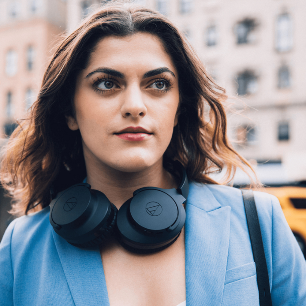 Casti Wireless ATH-ANC700BT Over-ear Headphones Negru