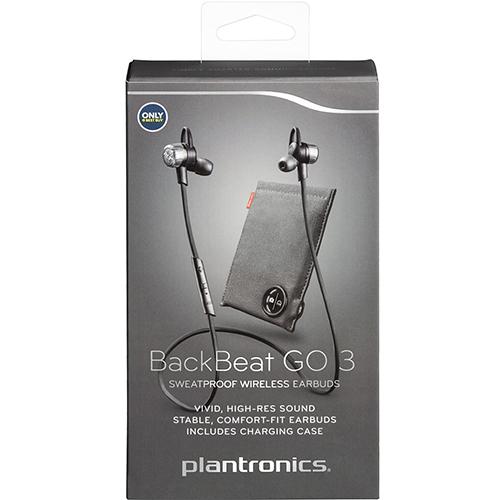 Casti Wireless Backbeat Go 3 + Husa De Incarcare Albastru