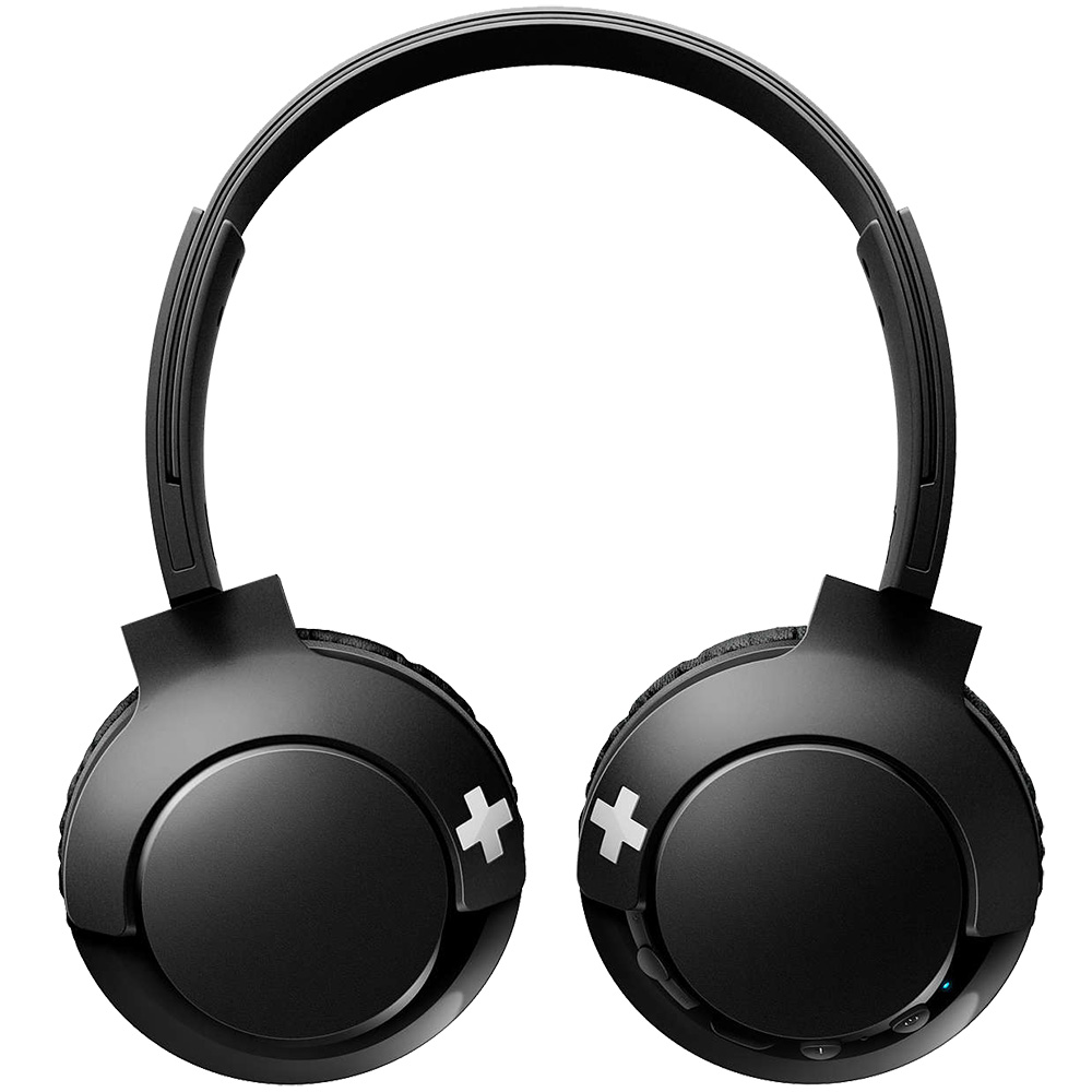 Casti Wireless Bass + On Ear Negru