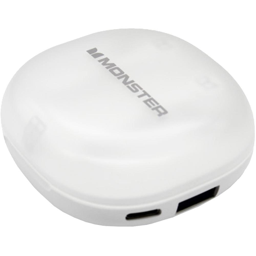 Casti Wireless Bluetooth Clarity 100 Airlinks In Ear, Microfon, Alb