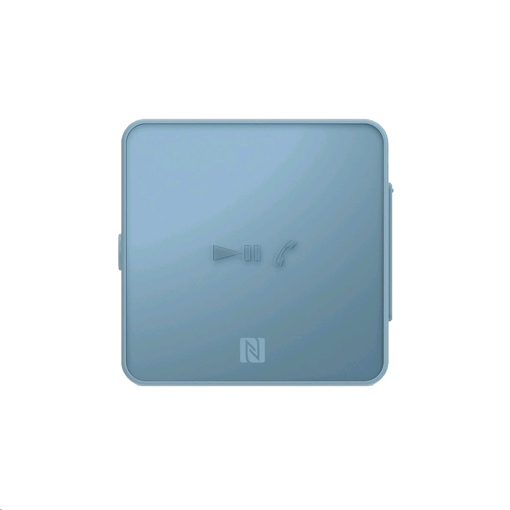 Dispozitiv Stereo Receiver Bluetooth NFC Clip Style Albastu