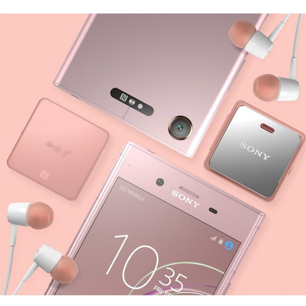 Dispozitiv Stereo Receiver Bluetooth NFC Clip Style Roz