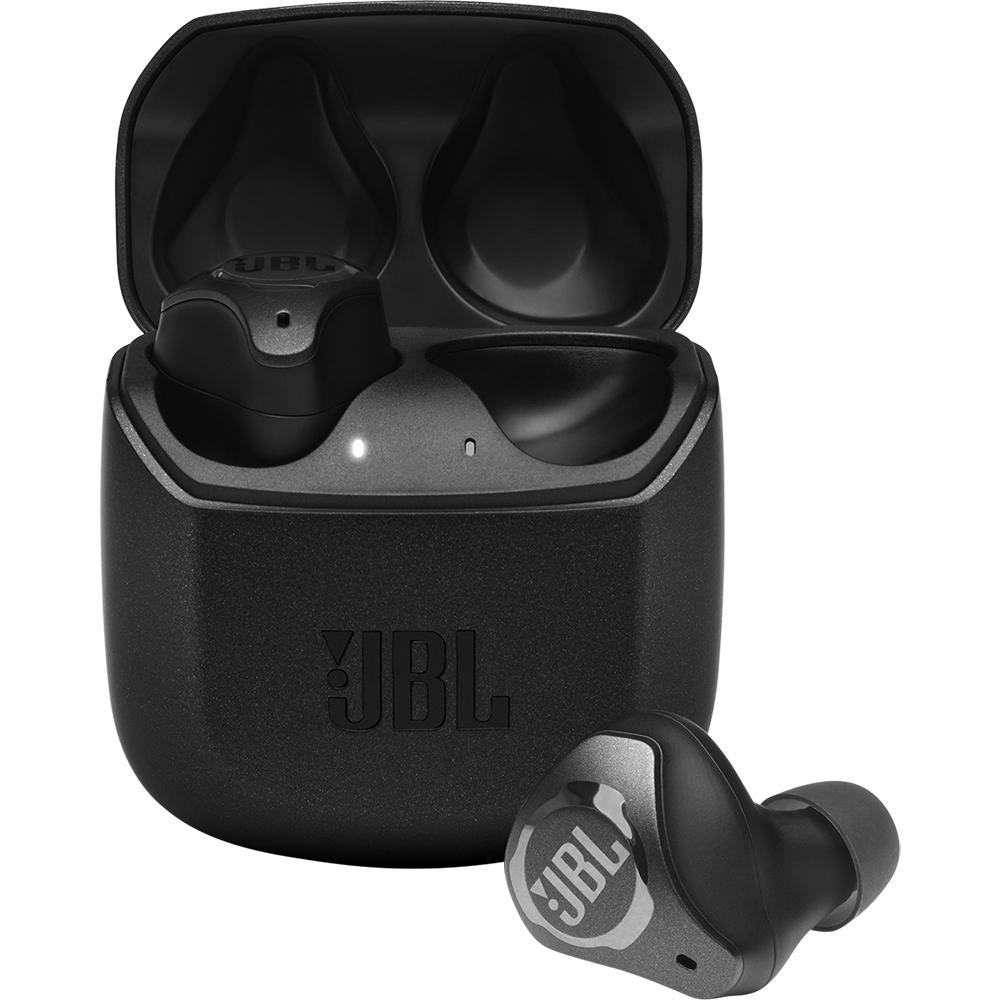 Casti Wireless Club Pro + True Wireless Earphones, Microfon, Control Tactil,  Negru