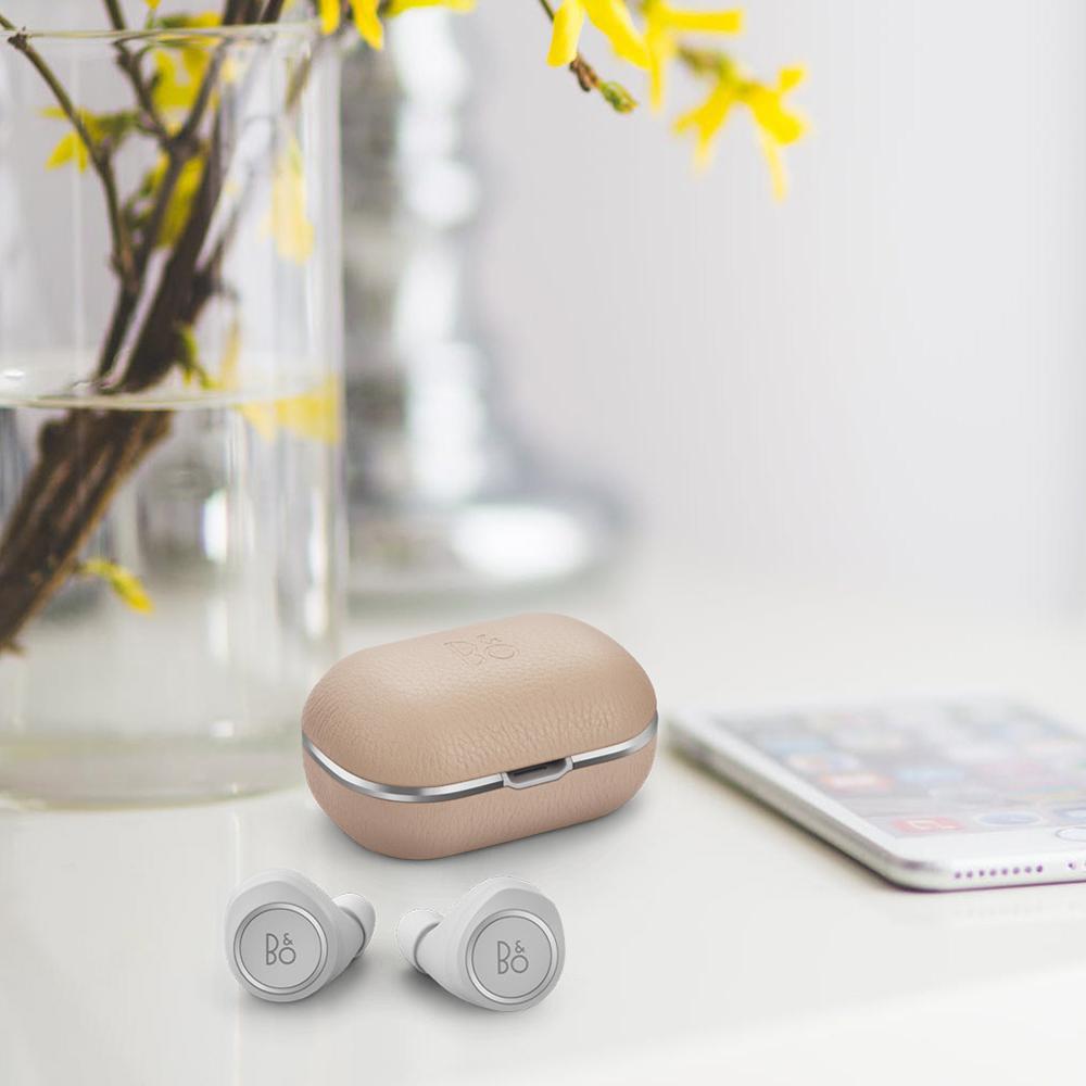 Casti Wireless   E8 2.0 Natural Alb