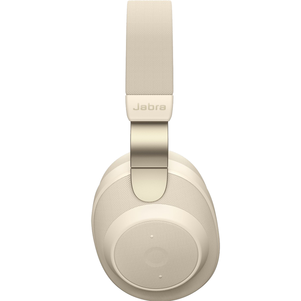Casti Wireless Bluetooth Elite 85h Over Ear, Microfon, Active Noise Cancellation, Acces Asistent Vocal Inteligent, Multi-Connect, Gold Beige Auriu