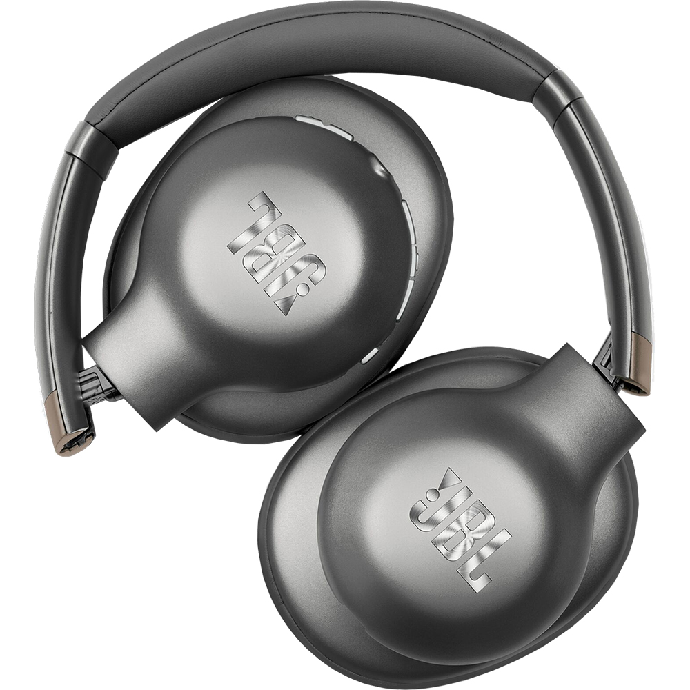Casti Wireless Bluetooth Everest 710 Over Ear, Active Noise Cancellation, Microfon, ShareMe 2.0, Gun Metal Gri