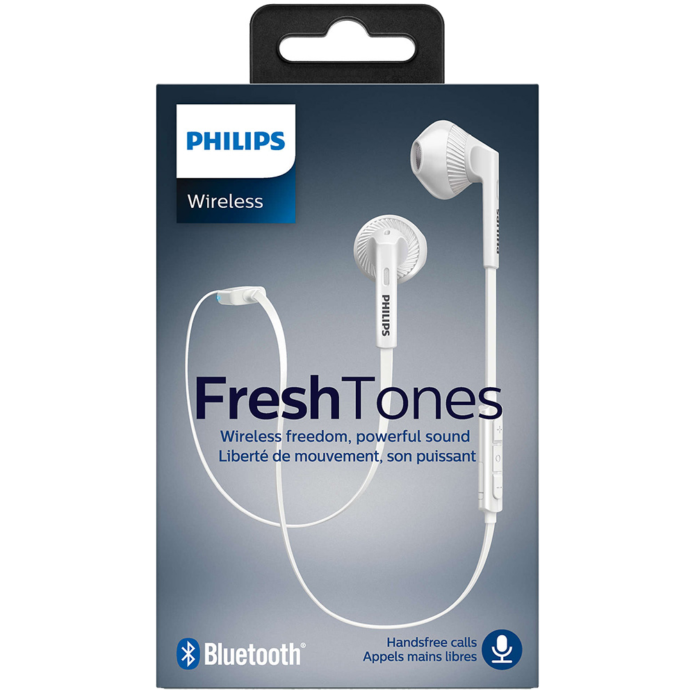 Casti Wireless FreshTones Alb