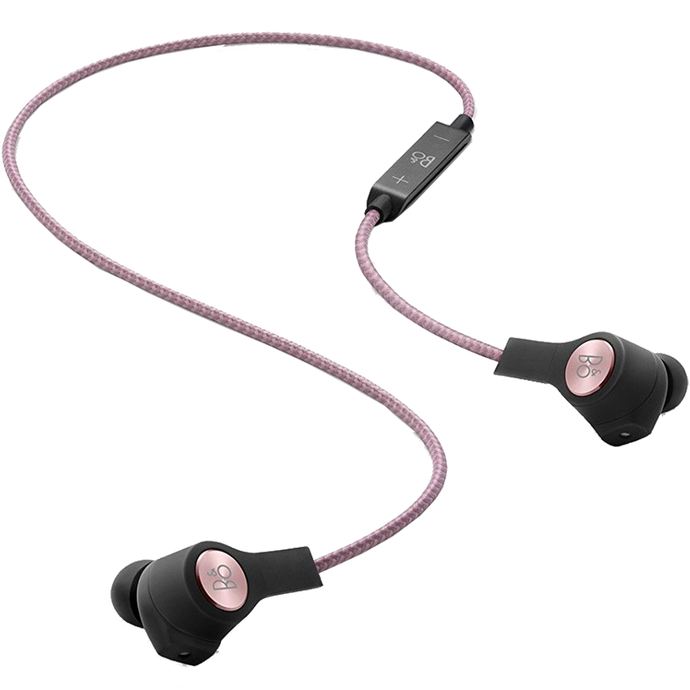 Casti Wireless Bluetooth H5 In Ear Cu Microfon Si Buton Control Optimizat Pentru iOS, Roz