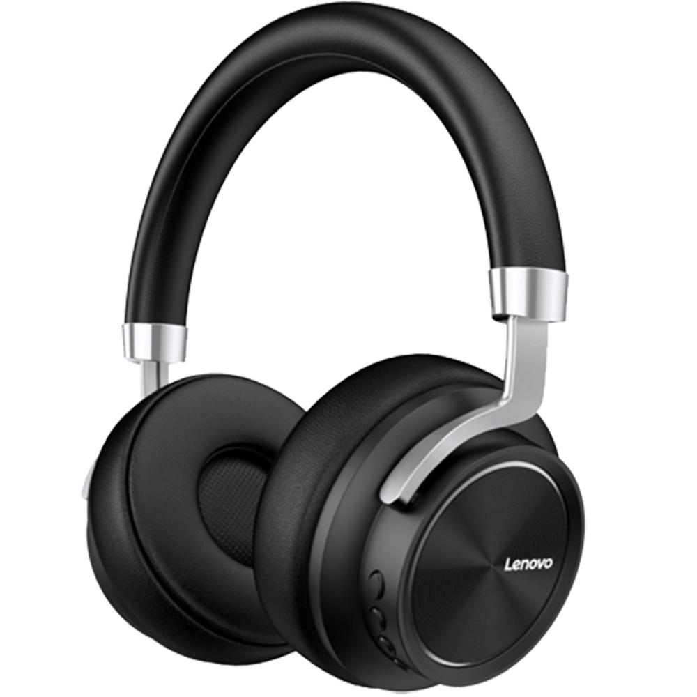 Casti Wireless HD800 Premium Over Ear, Microfon, HD, Buton Control Volum, Negru