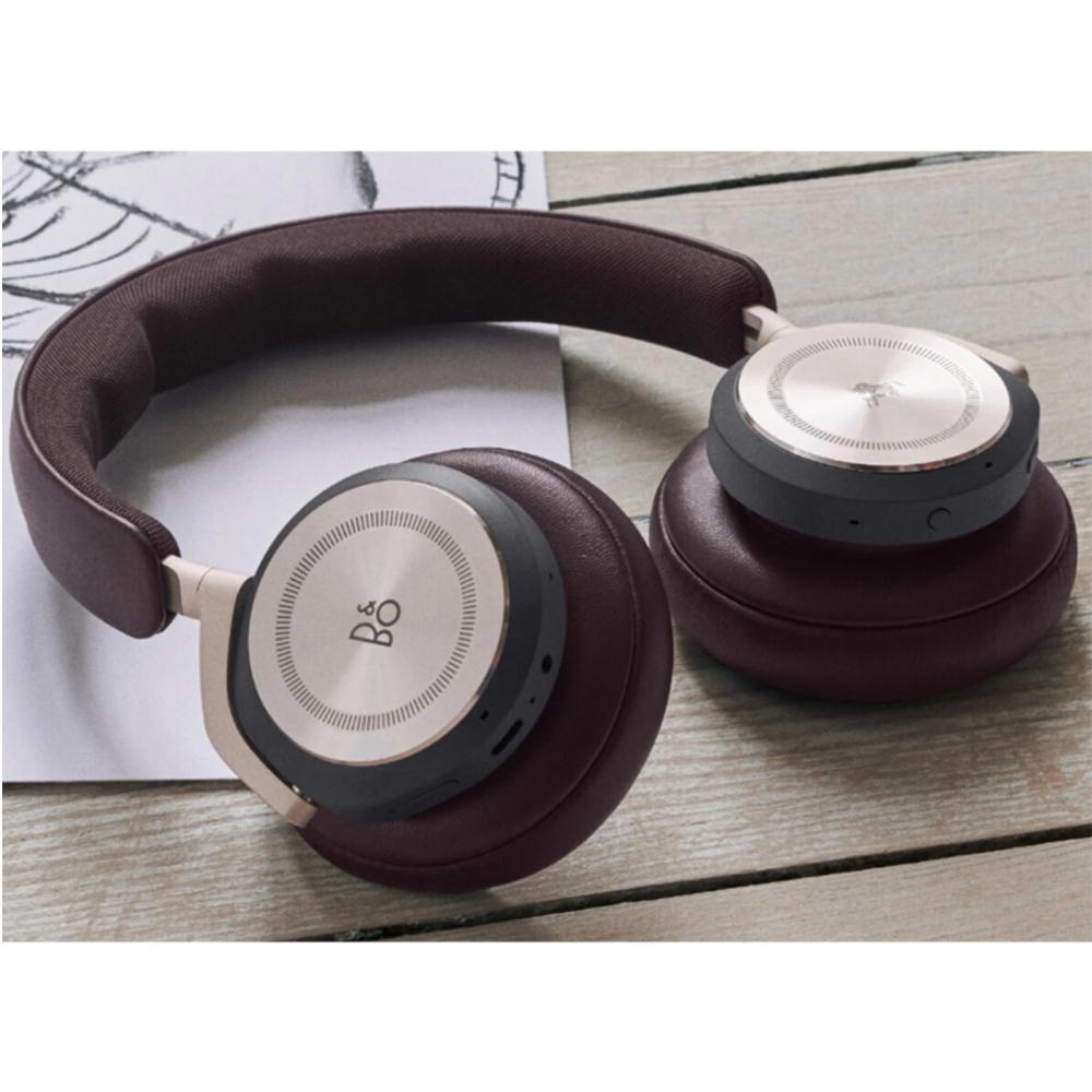 Casti Wireless HX Comfortable ANC Dark Maroon/Limestone, Maro Inchis