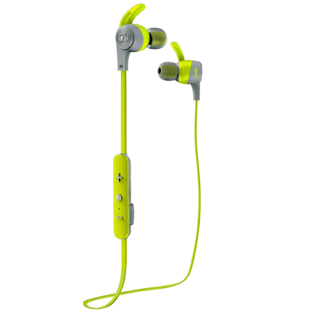 Casti Wireless Isport Achieve Verde