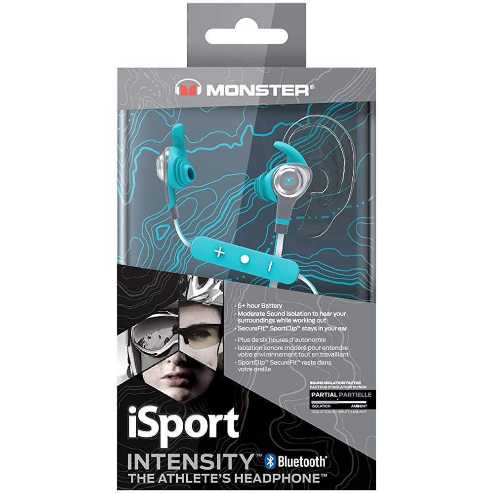 Casti Wireless Isport Intensity Albastru