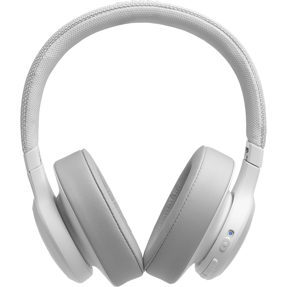 Casti Wireless Bluetooth Live 500 BT Over Ear, Microfon, Control Tactil, Asistent Inteligent, Multi-Point Connection, Alb