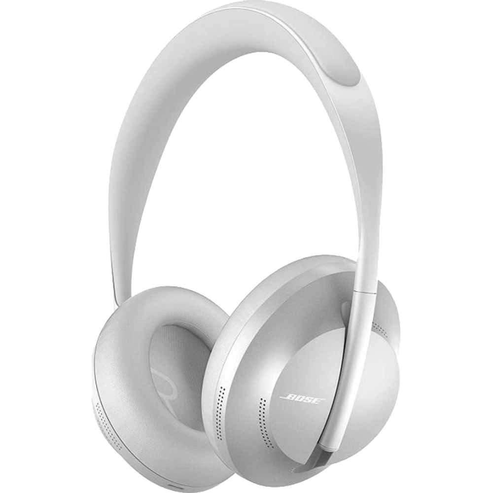Casti Wireless Bluetooth Noise Cancelling 700 Over Ear, Asistent Inteligent Nativ, Microfon, Argintiu