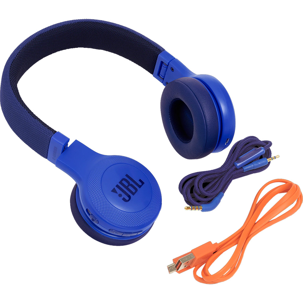 Casti Wireless On Ear E45BT Albastru