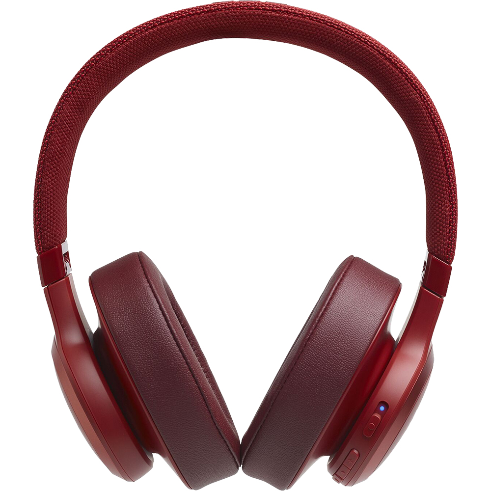 Casti Wireless Bluetooth Live 500 BT Over Ear, Microfon, Control Tactil, Asistent Inteligent, Multi-Point Connection, Rosu