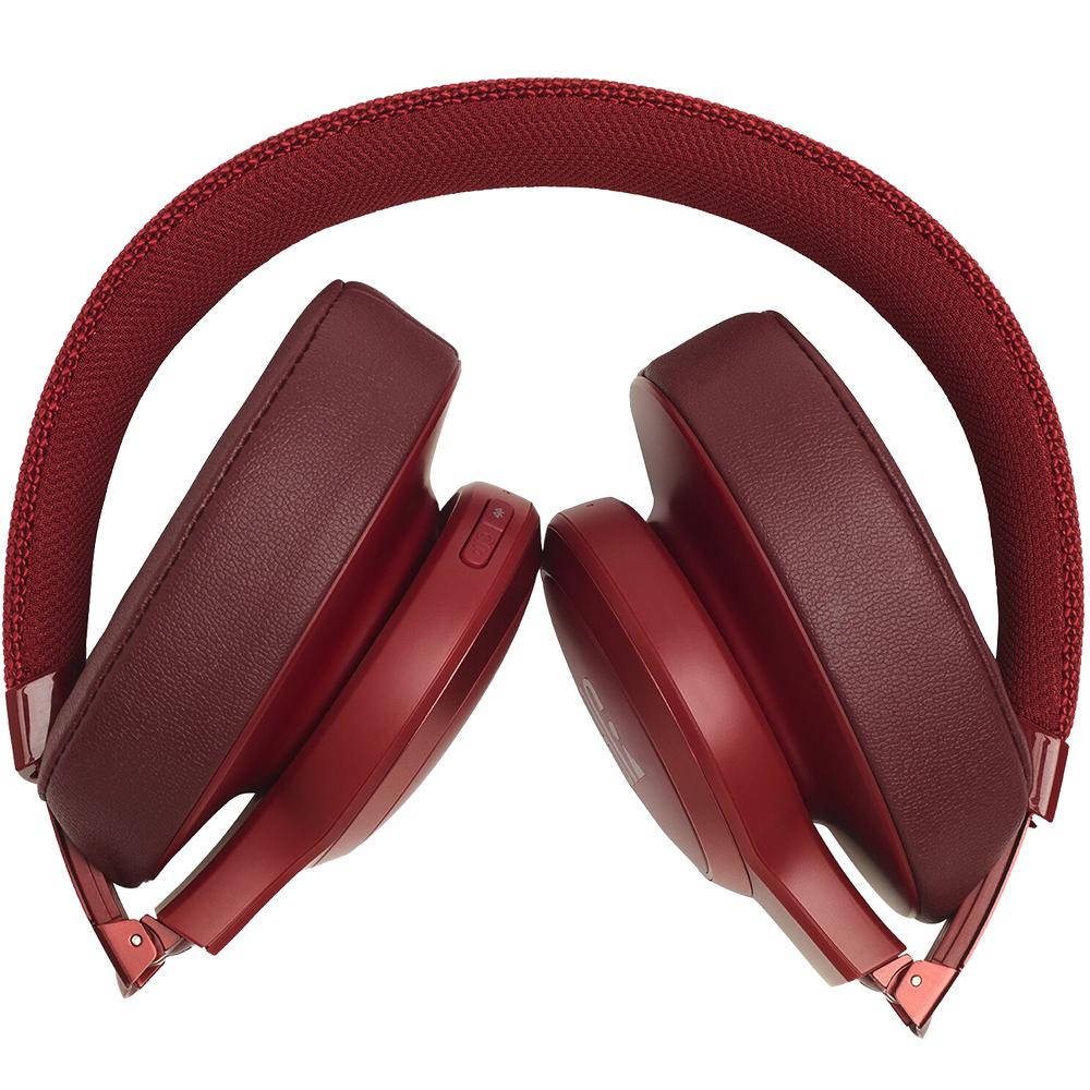 Casti Wireless Over Ear Live 500BT Rosu