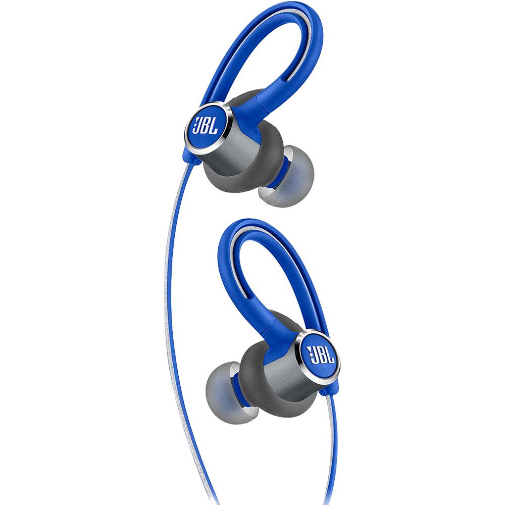 Casti Wireless Bluetooth Reflect Contour 2 In Ear, Microfon, Buton Control, IPX5, Albastru