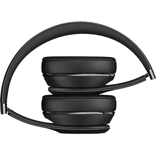 Casti Wireless Bluetooth On Ear Solo 3 Cu Izolare A Sunetului, Microfon si Buton Control Volum, Negru