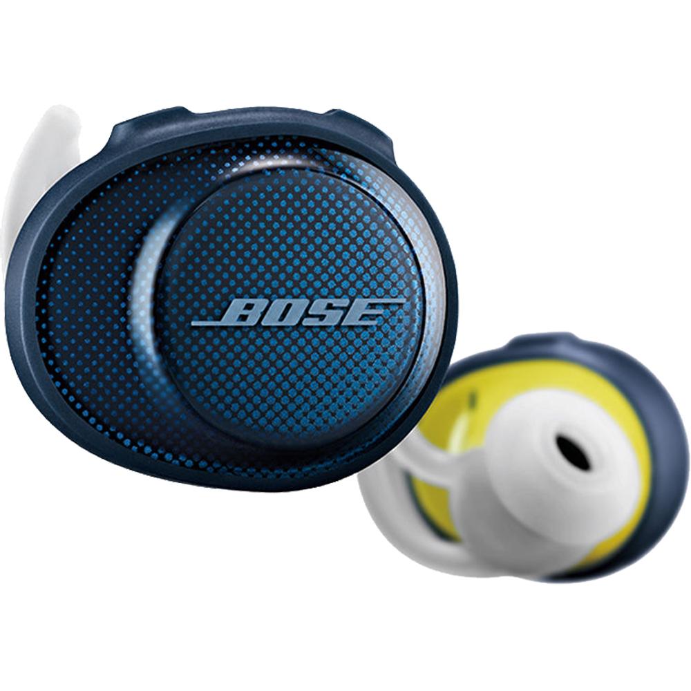 Casti Wireless Bluetooth Soundsport Free In Ear, IPX4, Microfon, Albastru