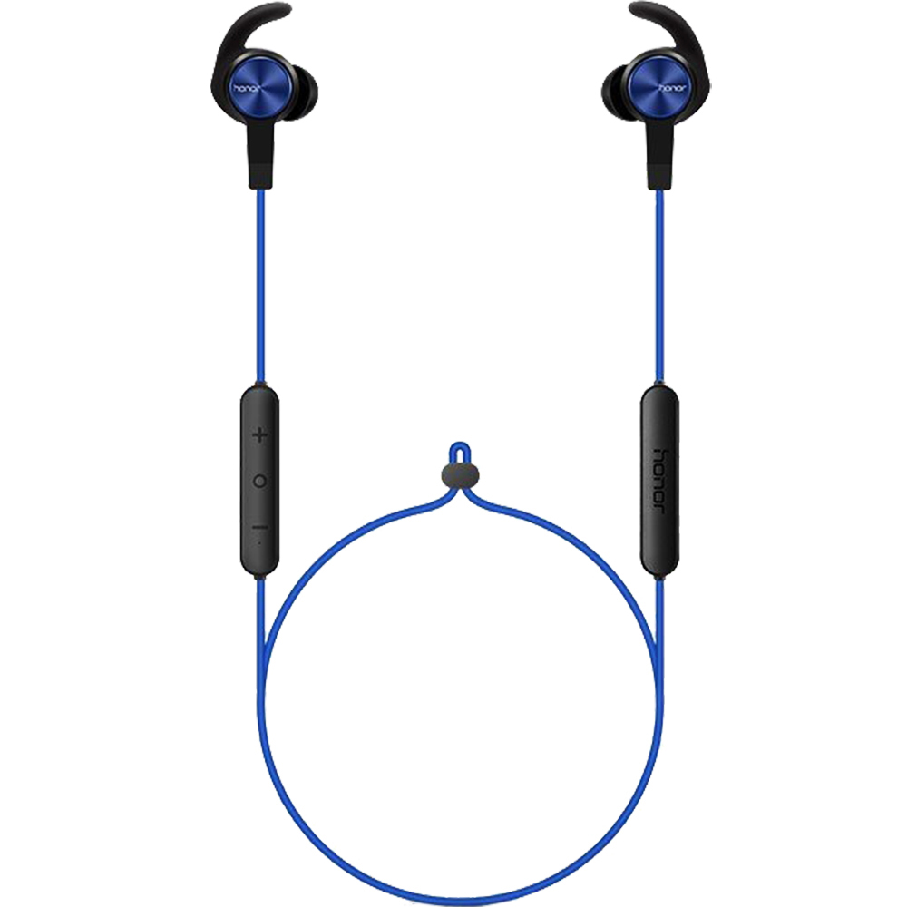 Casti Wireless Bluetooth Sport Lite In Ear, Sweatproof, Voce HD, Microfon, Buton Control Volum, Albastru