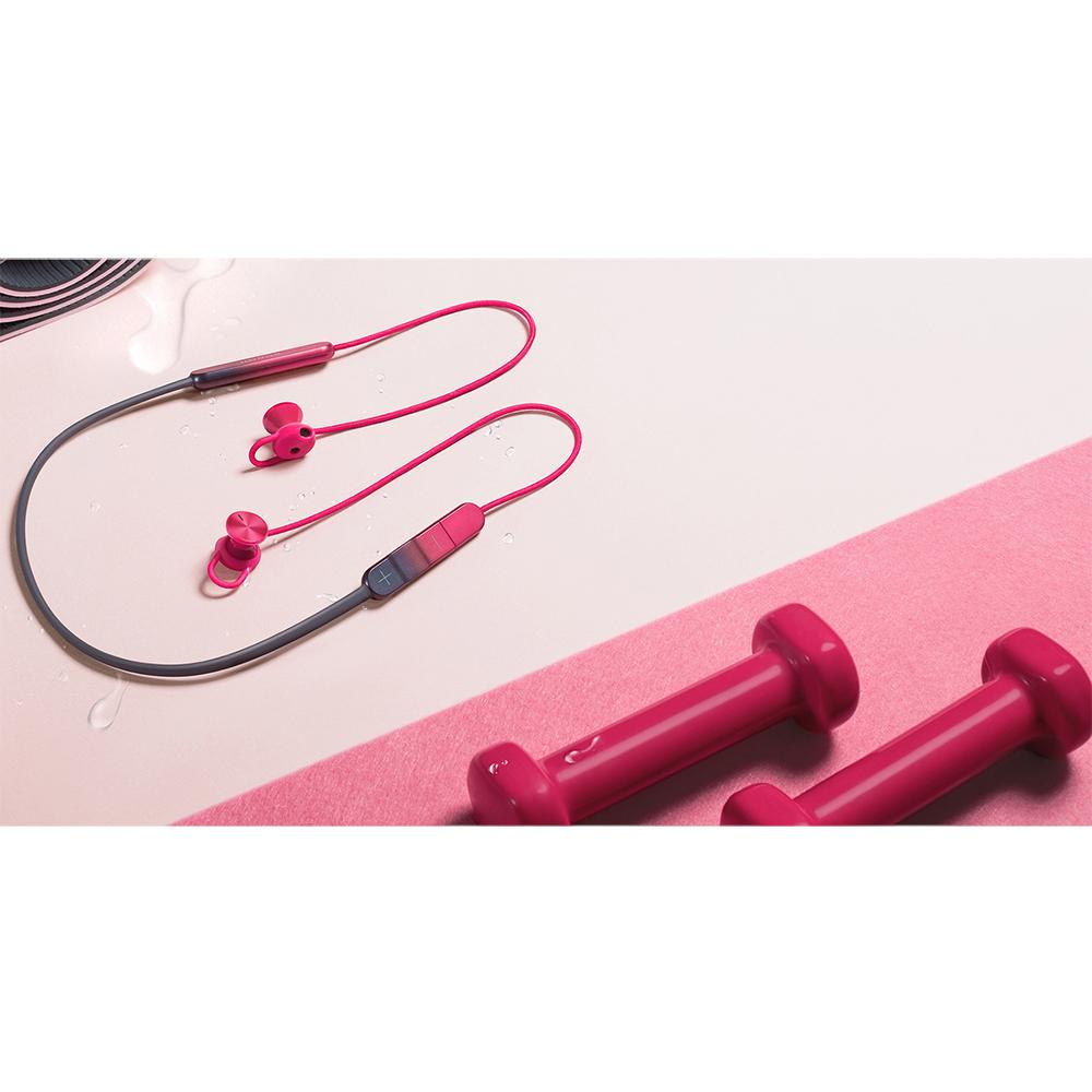 Casti Wireless Bluetooth Sport Pro In Ear, Microfon, Buton Control Volum, IPX5, Rosu